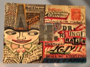 Eine weitere von 12 Doppelbusen-Karten von Anita Rée
