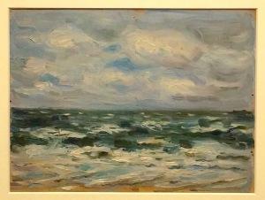 Eines der letzte Bilder Anita Rées: Nordsee
