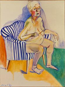 Alice Neel malt sich auch noch mit 80 Jahren nackt
