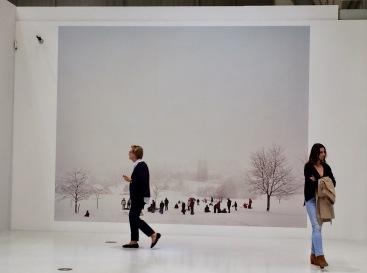 """Peter Bialobrzeski: Fototapete aus der Arbeitsgruppe """"Heimat"""""""