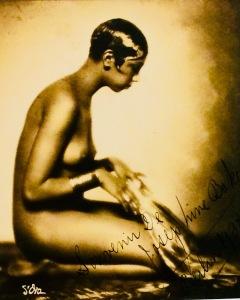 Nacktfoto von Josephine Baker