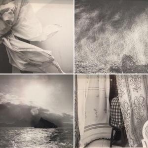 """Anna Simone Wallinger: Sodade. Motive von den kapverdischen Inseln, Entrée zur Ausstellung """"Gute Aussichten Deluxe"""""""