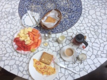 Englisch-indisches Frühstück im Marbella Guest House
